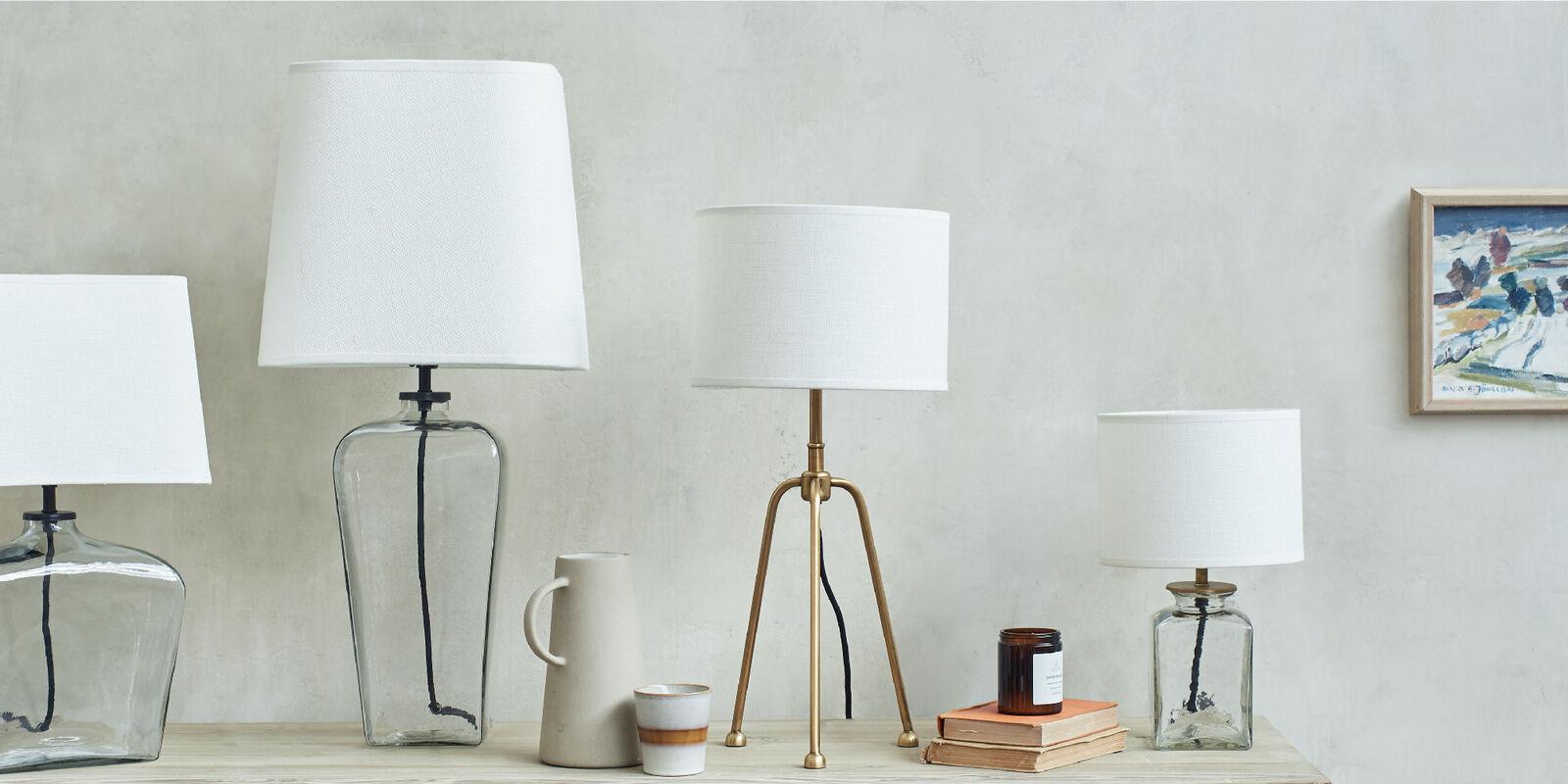 Desk lamp range