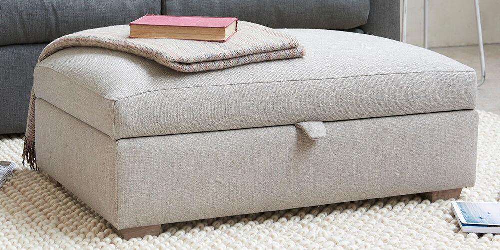 Bumper Upholstered Footstool