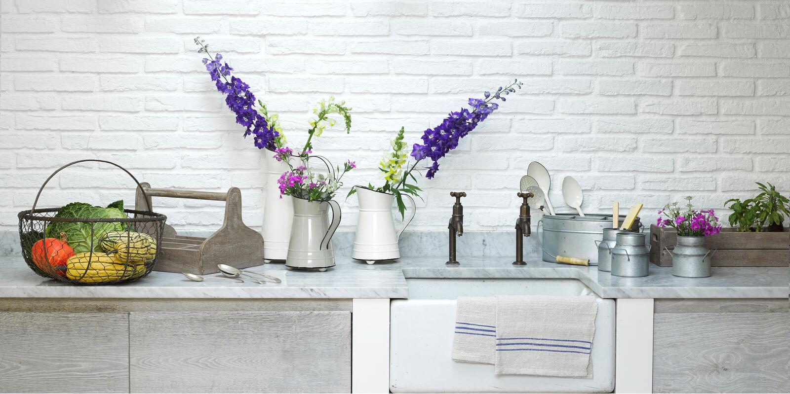 Range of kitchen tabletop accessories