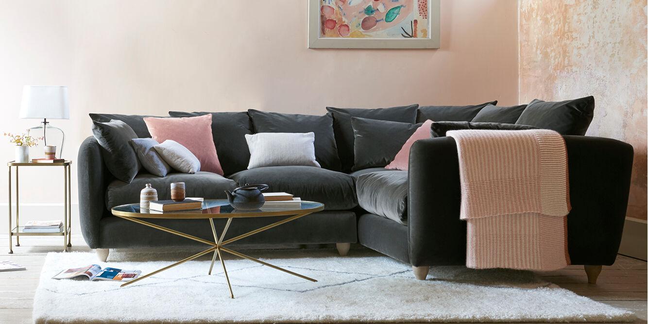 Podge Squishy Large Deep Left Hand Corner Sofa