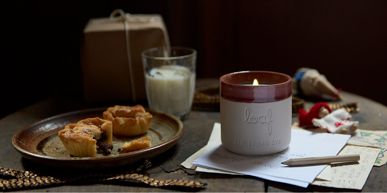 Christmas Eve smelly candle