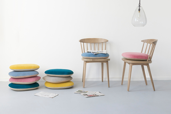 Soft Serve dining chair seat pads