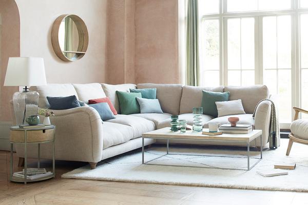 Bumpster Large Modern L Shaped Corner Sofa
