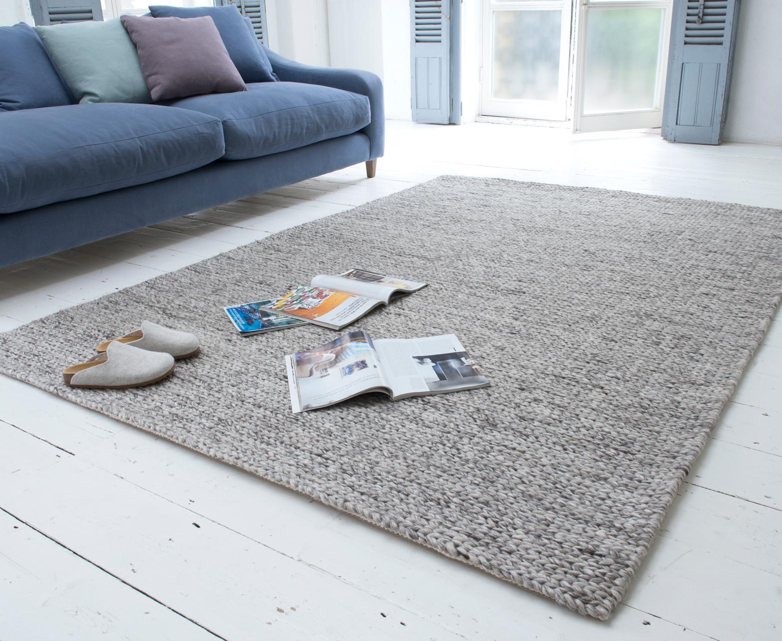 Yarn Rug Chunky Wool Floor Loaf