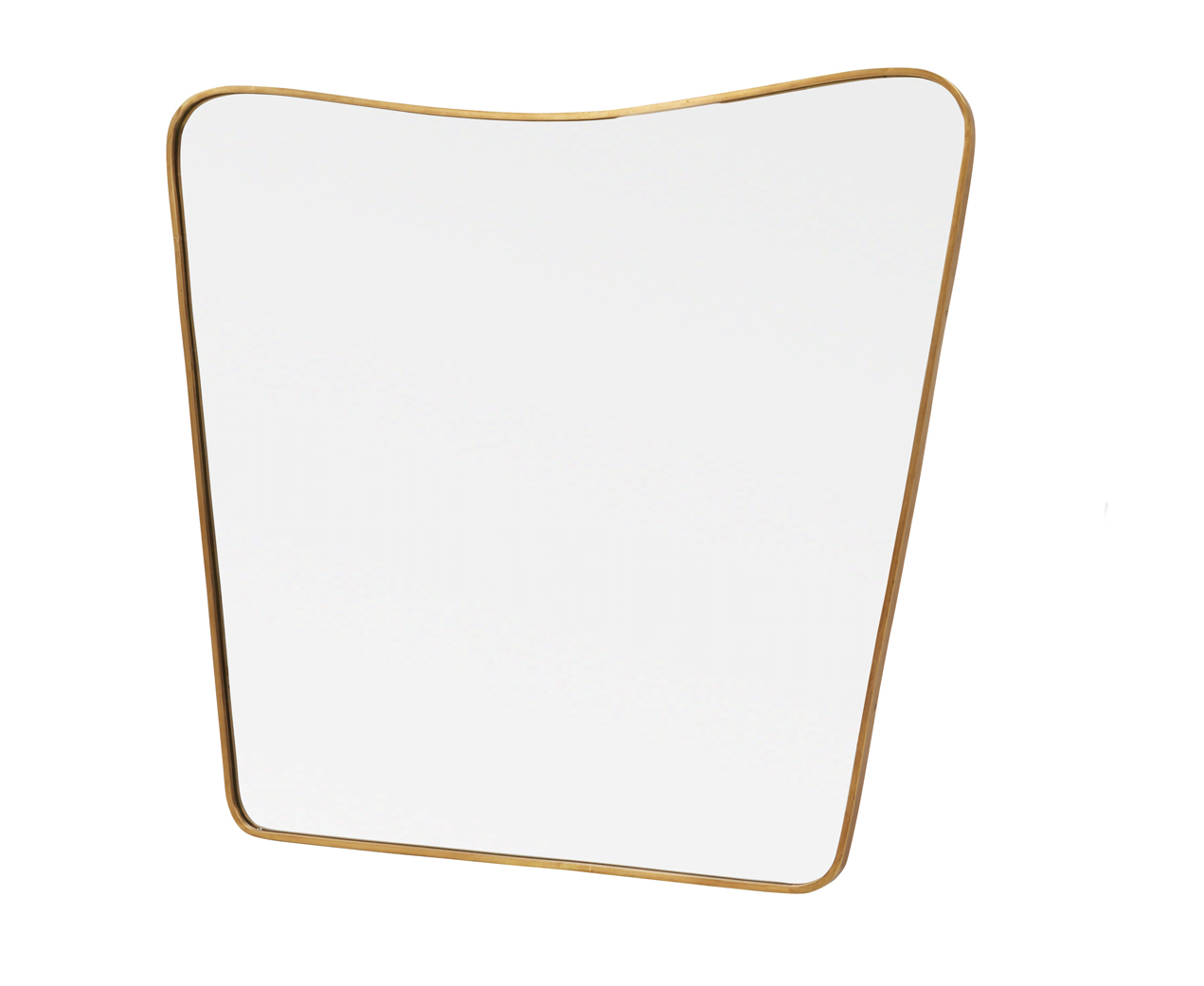 Big Brass Mirror Retro Wall Mirror Loaf Loaf