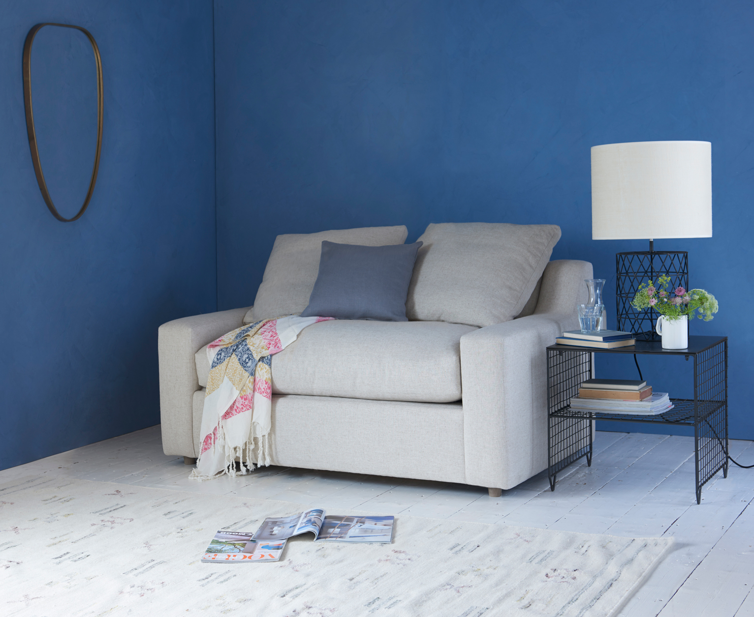 Picture of: Cloud Love Seat Sofa Bed Single Sofa Bed Loaf