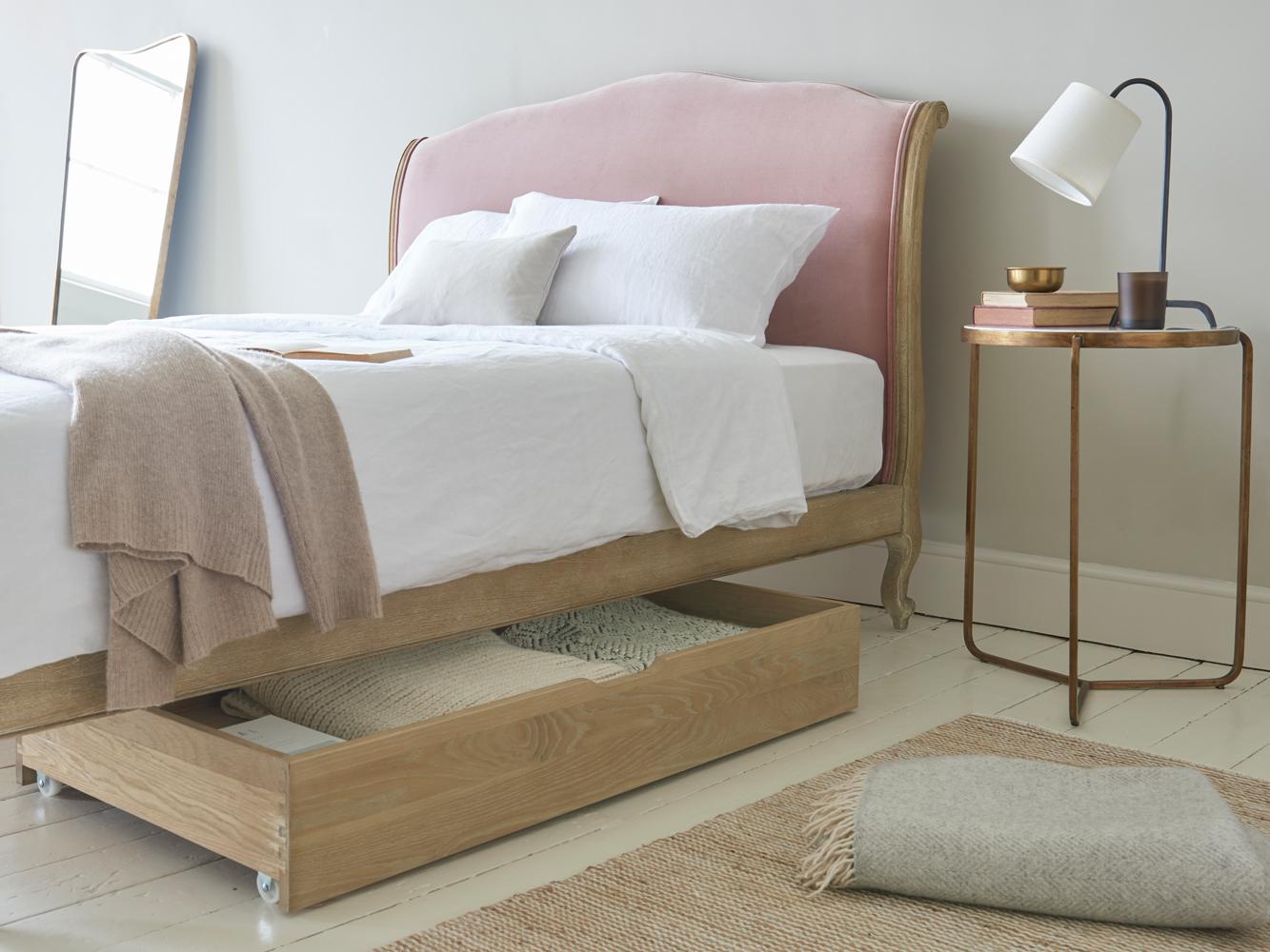 Um Bed Drawer Wooden Under