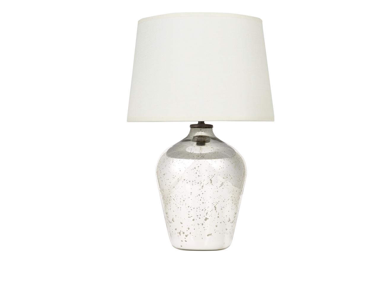 Small Brekka Lamp Mercury Glass Table Lamp Loaf