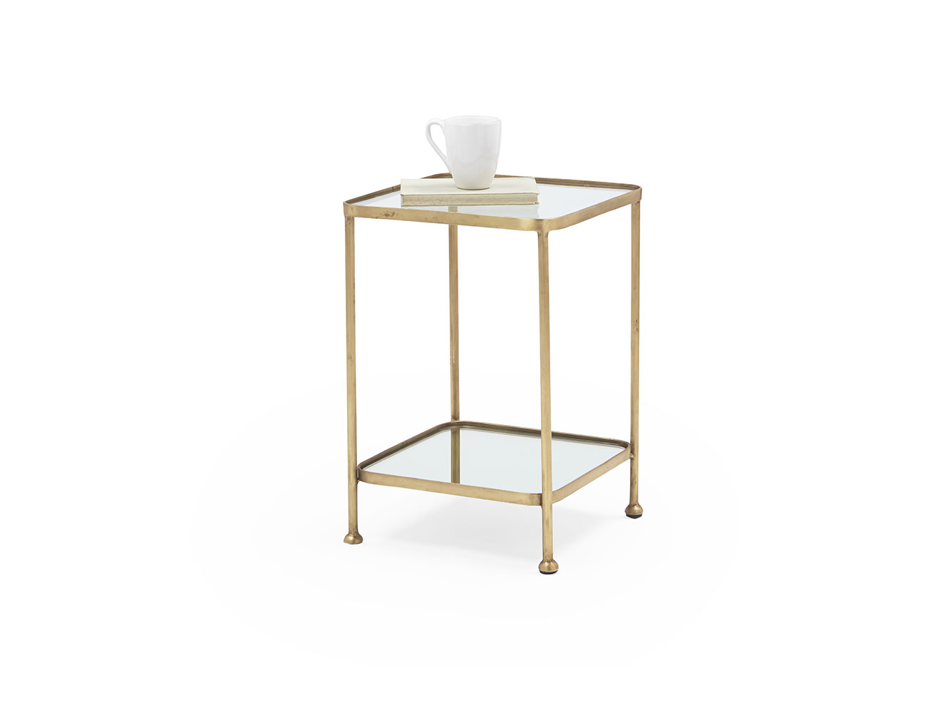 Wonder Brass Side Table Brass And Glass Side Table Loaf
