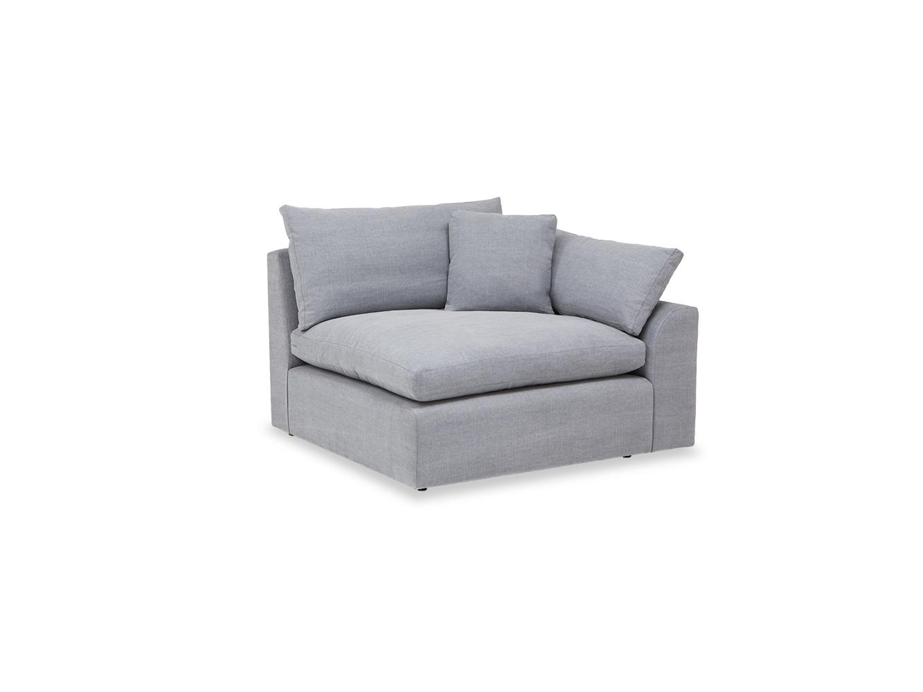 new concept f50d2 3febc Large left hand Cuddlemuffin Modular Corner Sofa in Thatch house fabric