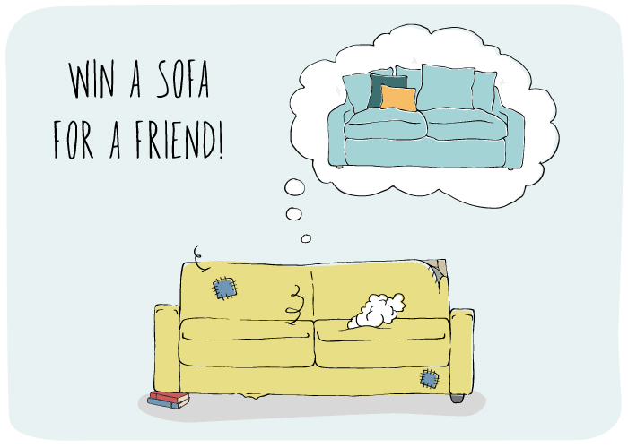 Win A Sofa For Friend Loaf