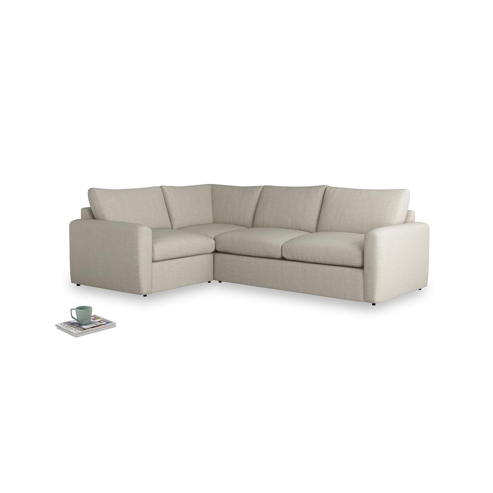 reputable site 81c9c 9d9cf Large left hand Chatnap modular corner storage sofa in Thatch house fabric