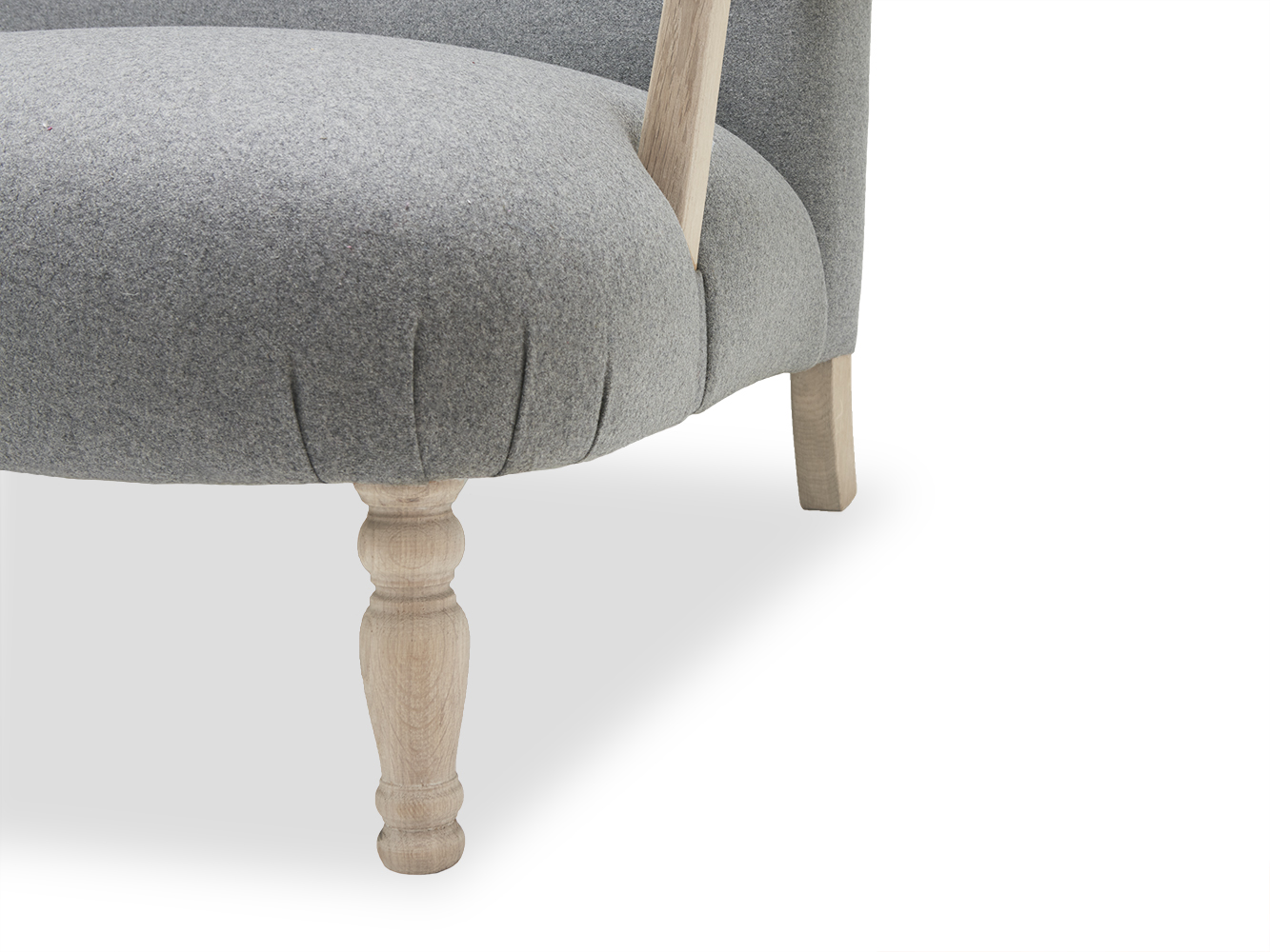 Medium Brew Sofa In Thatch House Fabric