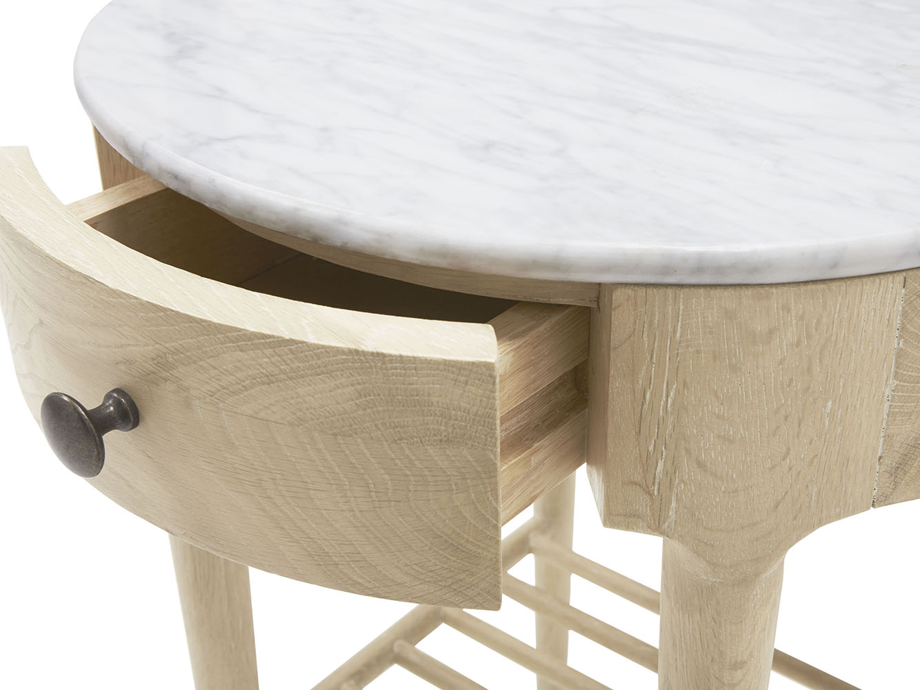 Mini Marmo Side Table Marble Top