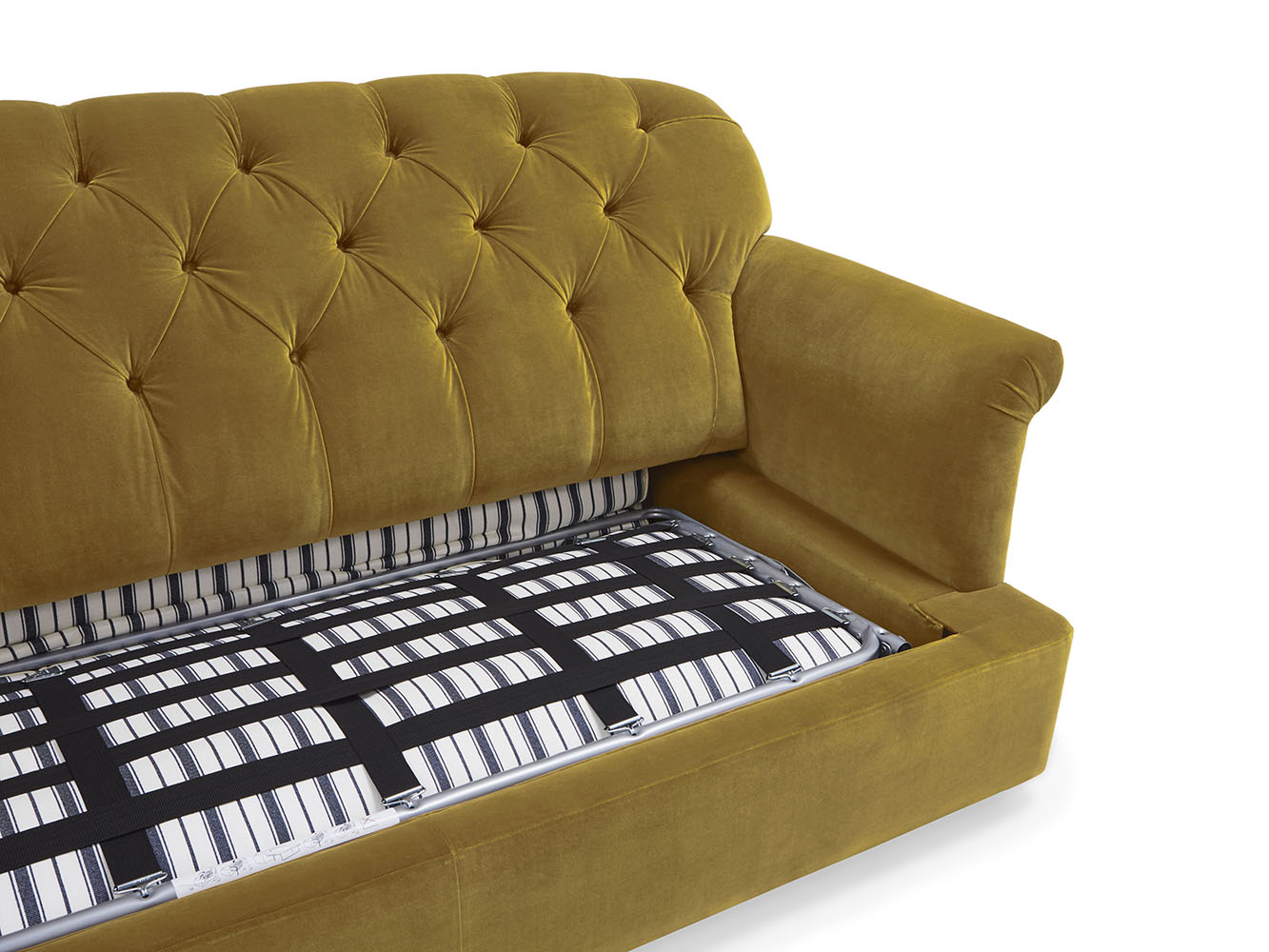 Large Truffle Sofa Bed In Thatch House Fabric