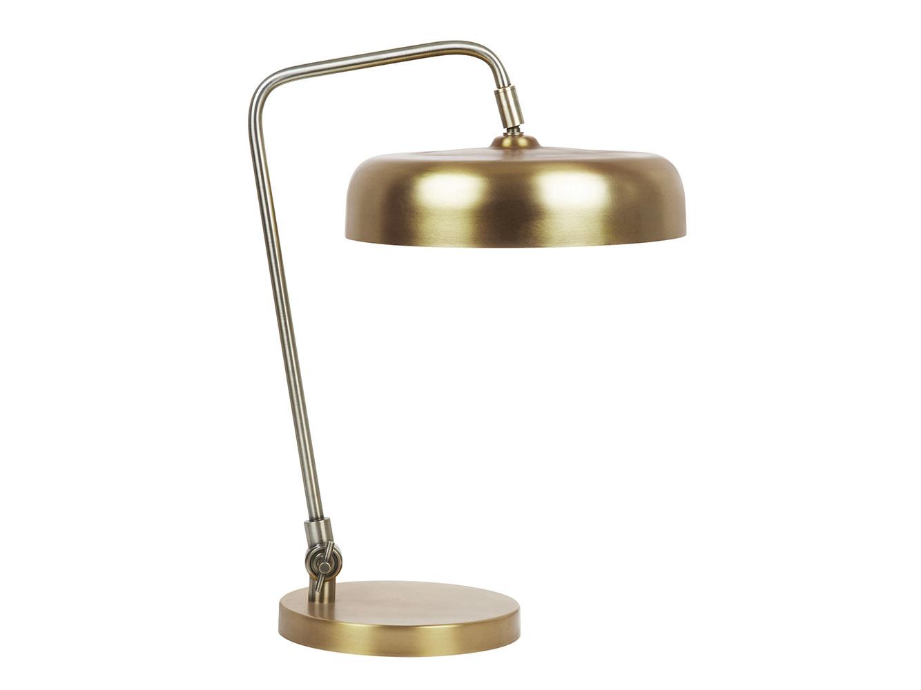 Biblio Table Lamp In Brass