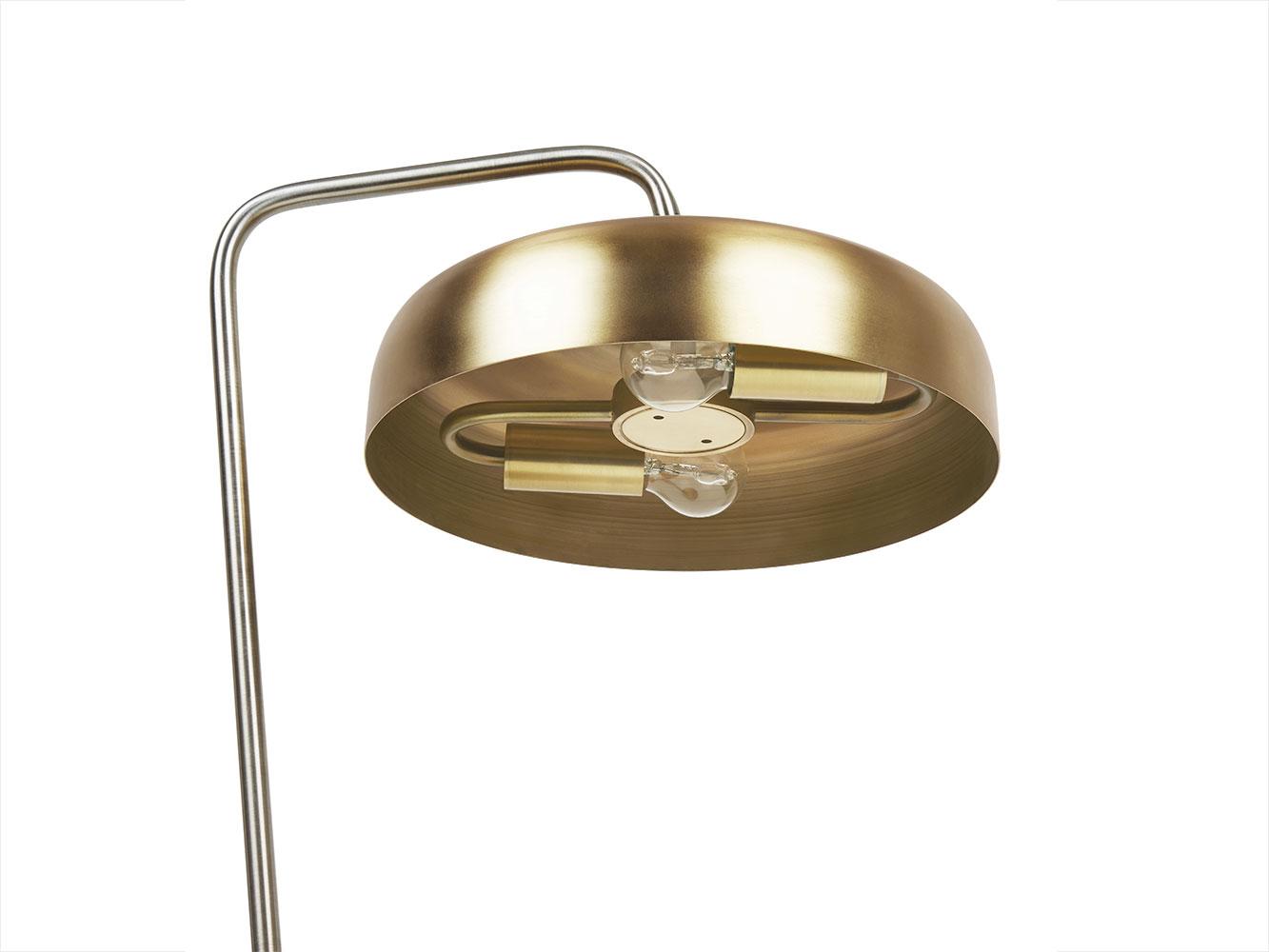 Biblio Lamp in Brass | Brass Table Lamp