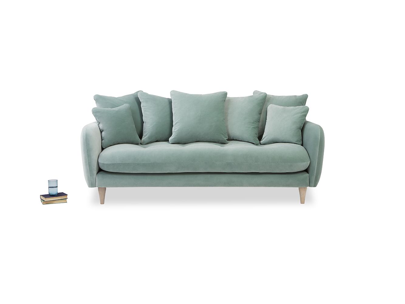Superb Small Skinny Minny Sofa In Thatch House Fabric Spiritservingveterans Wood Chair Design Ideas Spiritservingveteransorg
