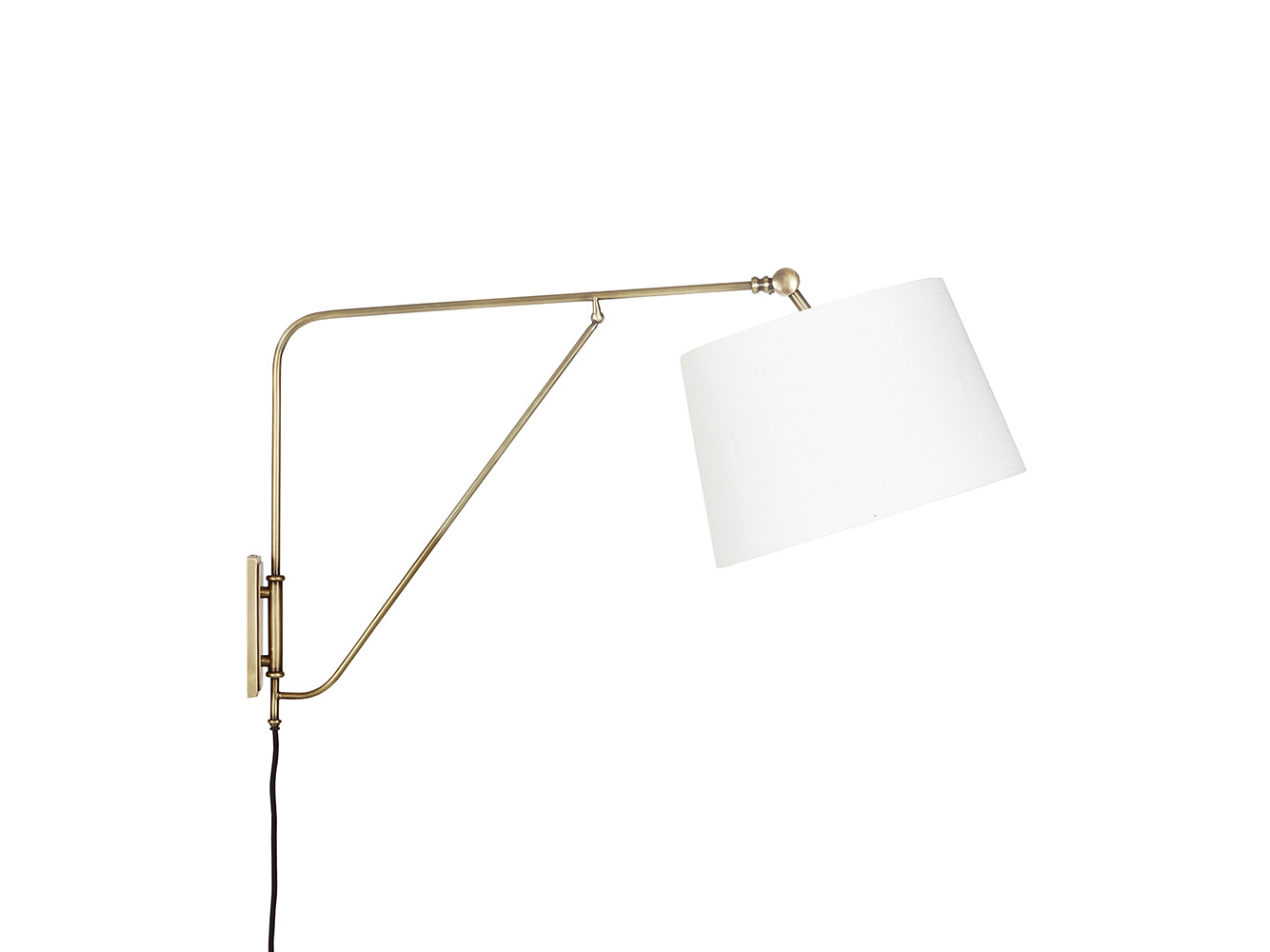 Yard Arm Wall Light Swing