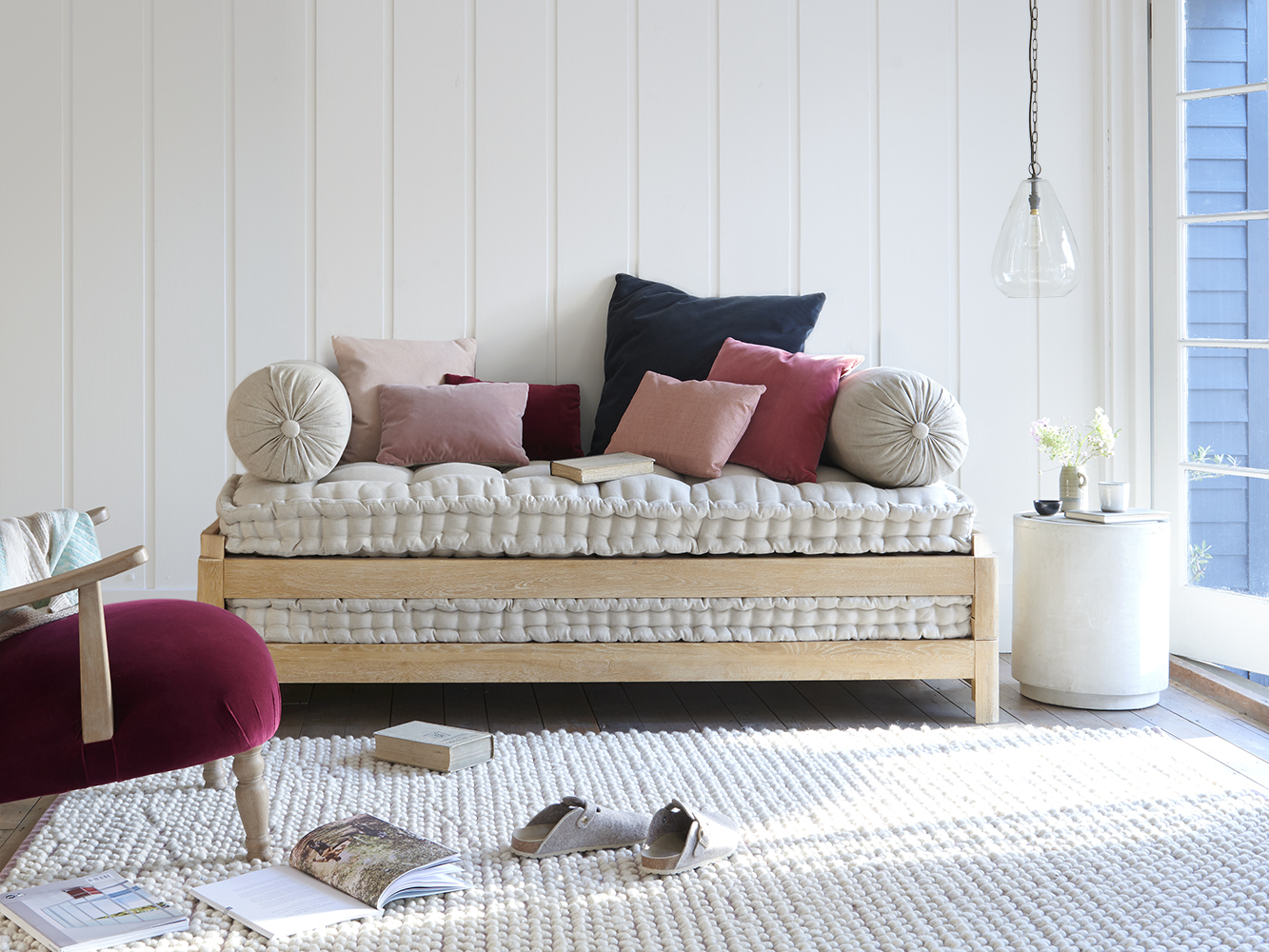 - Gorgeous Oak Daybed Two Pack Loaf