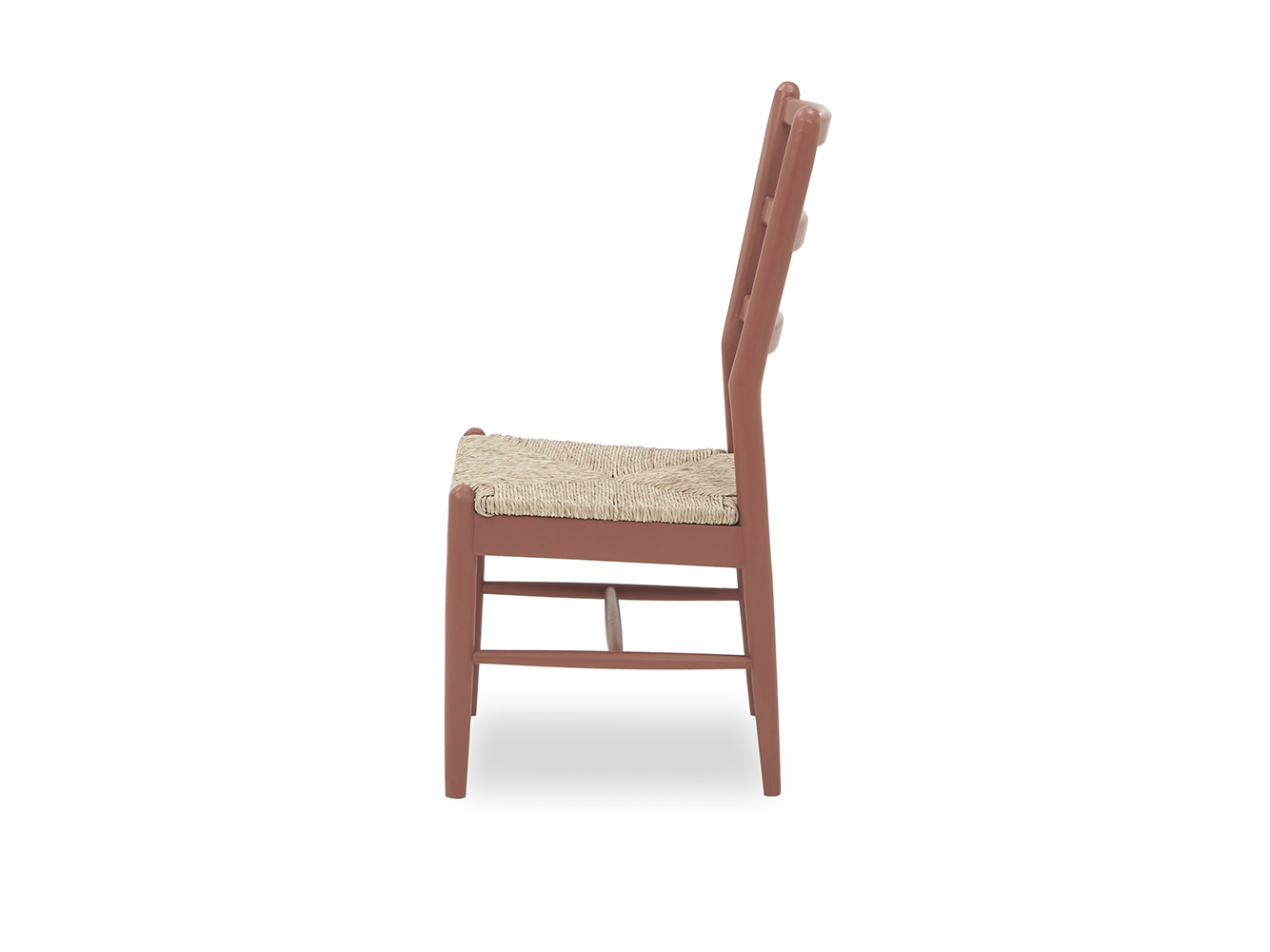 Rustic Red Dining Chair