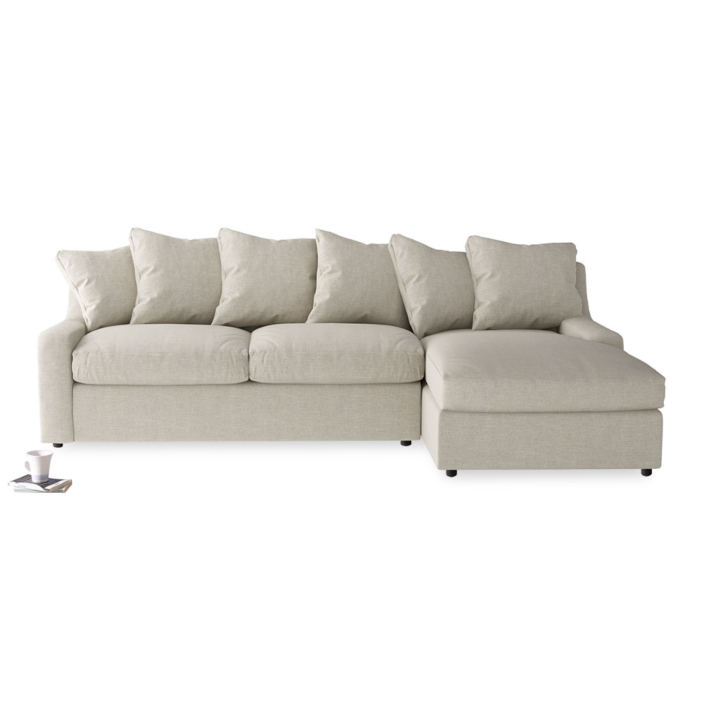 Cloud Chaise Sofa Insanely Comfy