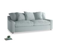 Large Cloud Sofa in Duck Egg vintage linen