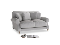 Small Crumpet Sofa in Flint brushed cotton