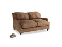 Small Pavlova Sofa in Walnut beaten leather
