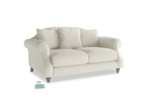 Small Sloucher Sofa in Oat brushed cotton