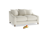 Small Oscar Sofa in Oat brushed cotton