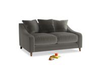 Small Oscar Sofa in Slate clever velvet