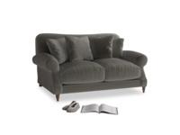 Small Crumpet Sofa in Slate clever velvet