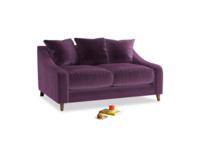Small Oscar Sofa in Grape clever velvet