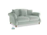 Small Sloucher Sofa in Mint clever velvet