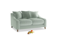 Small Oscar Sofa in Mint clever velvet