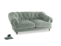 Medium Bagsie Sofa in Mint clever velvet