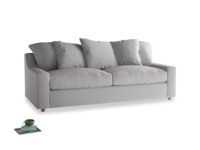 Large Cloud Sofa in Flint brushed cotton