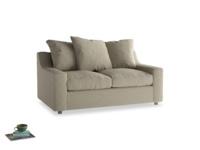 Small Cloud Sofa in Jute vintage linen