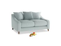 Small Oscar Sofa in Duck Egg vintage linen