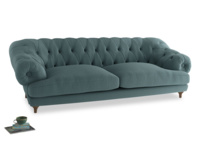 Extra large Bagsie Sofa in Marine washed cotton linen