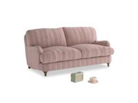 Small Jonesy Sofa in Red french stripe