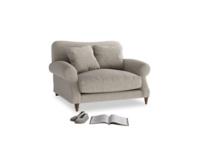 Crumpet Love seat in Birch wool