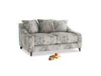 Small Oscar Sofa in Dusty Blue vintage rose