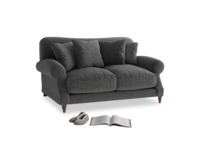 Small Crumpet Sofa in Shadow Grey wool