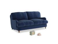 Small Jonesy Sofa in Ink Blue wool