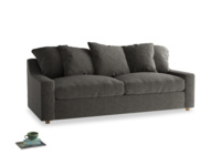 Large Cloud Sofa in Shadow Grey wool