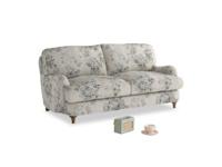 Small Jonesy Sofa in Dusty Blue vintage rose