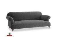 Large Soufflé Sofa in Shadow Grey wool