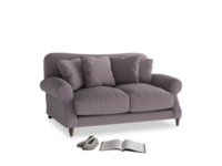 Small Crumpet Sofa in Lavender brushed cotton